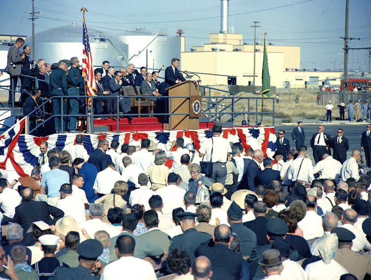 President Kennedy's visit in 1963