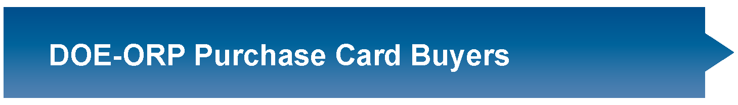 Purchase Card Buyers