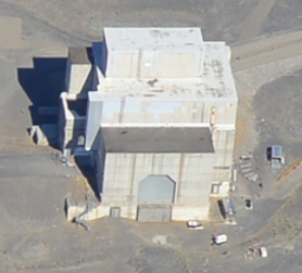 105 K East Reactor Building ready for construction of the secure safe enclosure